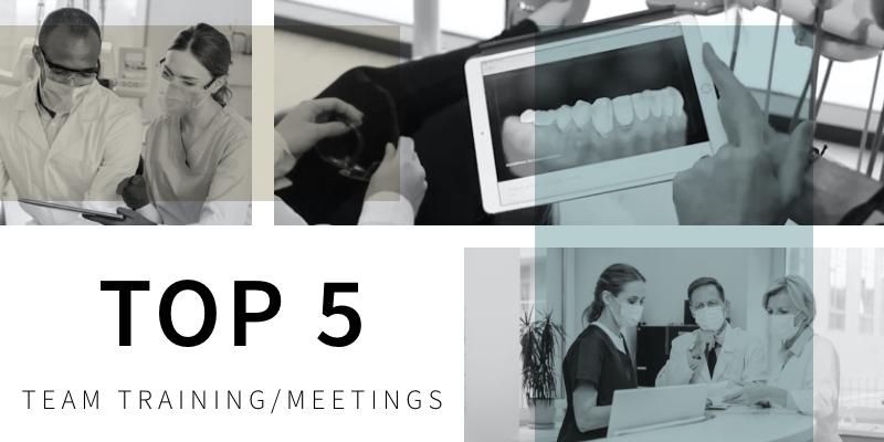 Top 5 Team/Training Meetings